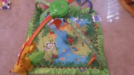 Fisher price baby gym music and lights
