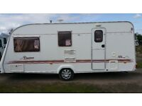 2002 Elddis firestorm 524 4 berth touring caravan with accessories