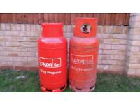 19 kg full bottle of propane calor gas!!! 2 bottles available