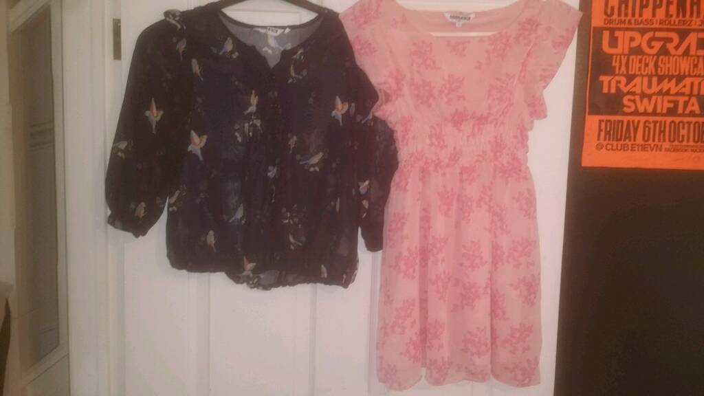 New Look Blouse and Dress age 13 years