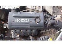 Toyota Yaris 1299cc Petrol VVT-i Engine