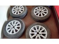 "Peugeot 206 14"" GTI Alloys with 175/65/R14 Tyres"