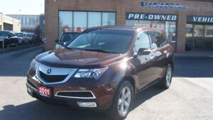 2011 Acura MDX Technology/NAVIGATION/DVD/BACK UP CAMERA