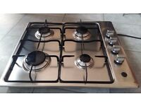 NEW WORLD Silver GAS HOB 4 RING