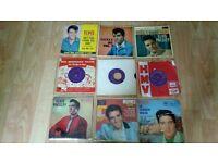 """22 x 7"""" elvis singles hmv , colour vinyl , ep's , limited edition"""