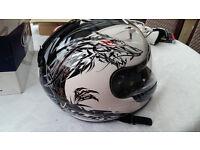 Barely Used - HJC Motorbike Helmet
