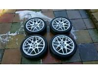 """18"""" alloy wheels from my bmw"""