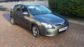 Hyundai i30 Classic Hatchback Full Service History 2010 Excellent condition New MOT March 2018