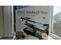 Breville Cafe Style Sandwich Press & Grill