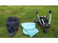 Black Quinny Zapp stroller