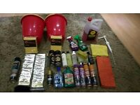 *JOB LOT OF CAR VALETING PRODUCTS*