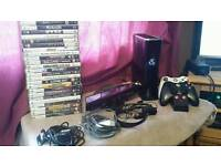 Xbox 360s console with 34 games