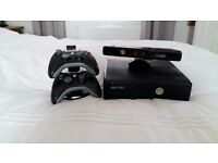 Xbox 360 4gb with kinect