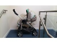Silver Cross freeway Pram/Push chair and Car seat (Travel System)