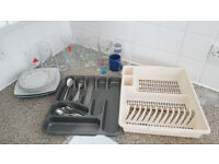 Dining Kitchen Set - Plates, Glasses, Cutlery