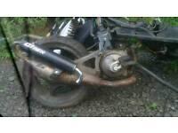 Yamaha aerox parts full bike here