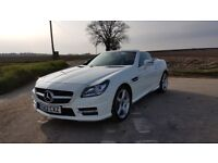 Mercedes-Benz SLK 2012 Roadster SLK 200 AMG Sport BlueEFFICIENCY 2dr Tip Auto Convertible