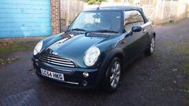 Mini cooper 1.6 convertible £1750 ono