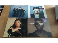 Vinyl. 14x late 80's early 90's 12inc LP's and singles.