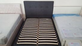 Sorrento High Headboard King Size Bed Frame by Julian Bowen BED ONLY Can Deliver