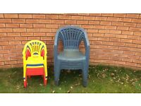 FREE garden chairs and kids garden chairs