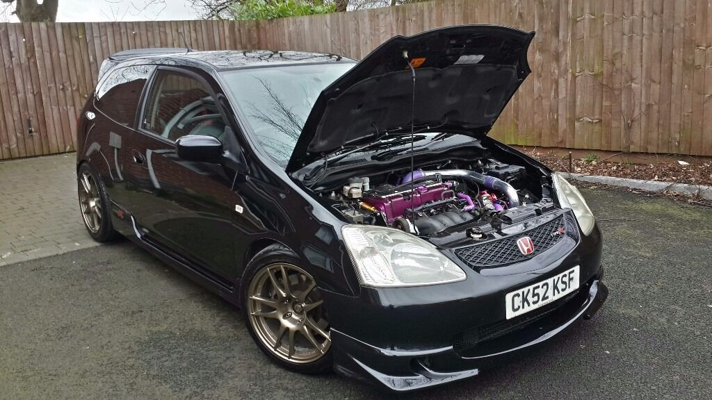 honda civic type r ep3 turbo 339bhp in hodge hill west. Black Bedroom Furniture Sets. Home Design Ideas