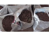 Top soil loam Top quality sorted and pre bagged collect from Downend Bristol