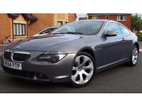 2004 54 BMW 645CI 4.4 COUPE GREY AUTOMATIC TIPTRONIC 2 DOOR COUPE