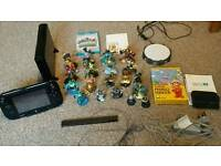 BLACK WII U PREMIUM 32GB + 4 GAMES