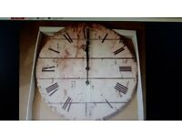 ****LARGE WALL CLOCK ****BRAND NEW-BATTERY