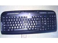 Logitech WIRELESS Keyboard + Mouse + Receiver 3 in 1