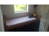 Single bedroom in a 2 bedroom flat. Mon to Fri lets only. 320 pcm including all bills