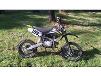 150cc motor bike honda rep scrambler / stomp / pit / dirt
