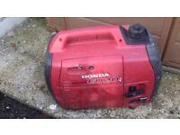 Honda suitcase generator