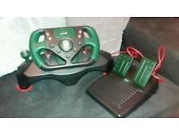 Jaguar racing wheel for PS2