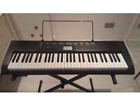 Casio CTK-1150 Electronic Keyboard with stand