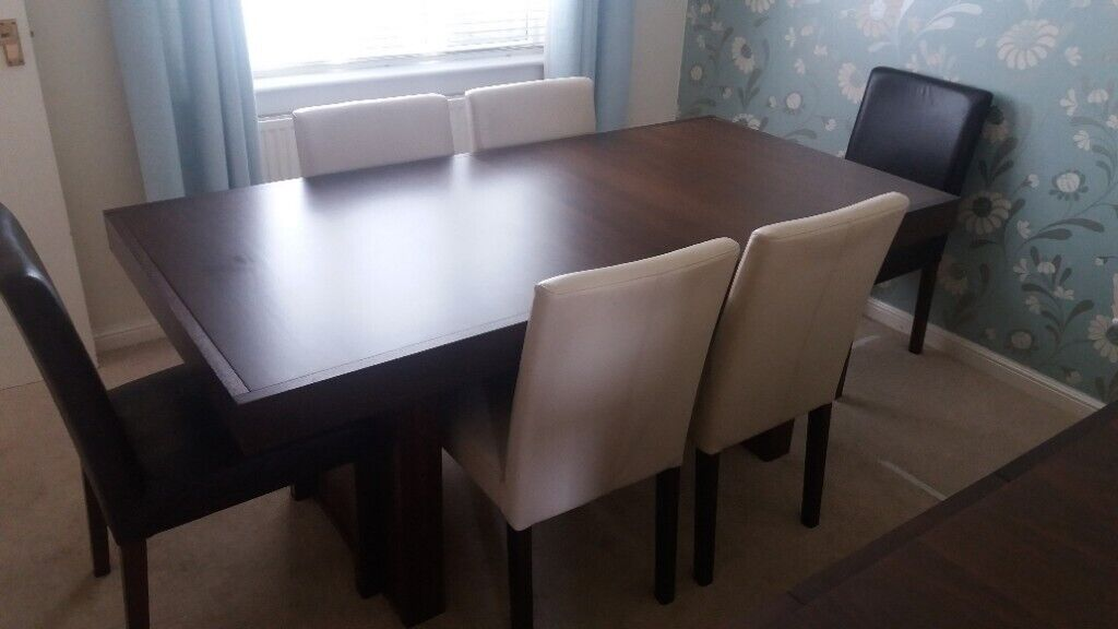 Dining table and 6 chairs   in Cumbernauld, Glasgow   Gumtree