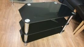 Black tv table suitable upto 45 inch tv FREE DELIVERY