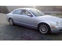 Jaguar S type SAT NAV LEATHER BLUETOOTH 6 DISC CD CHANGER ALLOY WHEELS SERVICE HISTORY CAMBELTS