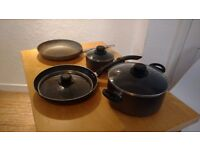 Assorted Pots and Pans