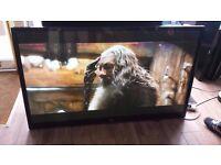 "LG 60"" Full HD 1080p 3D Plasma TV Freeview HD 600Hz With Wall Bracket £290"