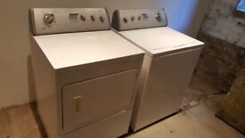 For Sale - Whirlpool American Top Loader Washing Machine and Dryer