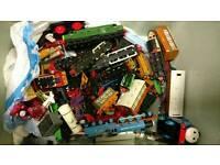 Train toys Box of
