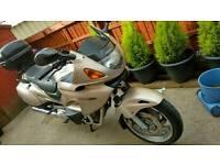 Honda motorbike deauville