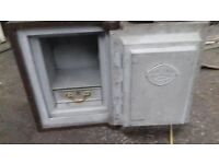 Vintage chubbs London safe with key