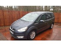 Ford Galaxy 1.8 Tdci GHIA 2007 1 Year MOT 6 speed manual Full Service History 7 seater diesel 45mpg