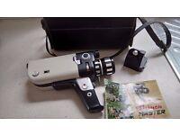 Chinon master 8mm Movie camera & case