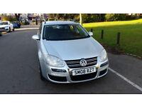 2008 Volkswagen Golf 1.9 TDI S 5dr Estate Fully HPI Clear Warranted Mileage @07725982426 @