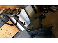 Excercise / Fitness Bike (Vision Fitness E1500) with LCD Computer / Display