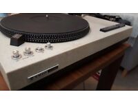 Rare - High quality KD-550 Trio Direct Dive turntable with Mission arm